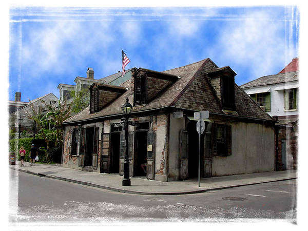 New Orleans Art Print featuring the photograph Jean Lafitte The Blacksmith by Linda Kish
