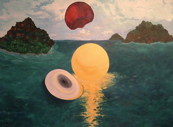 Light Art Print featuring the painting Light Revealed by Nancy Brockett