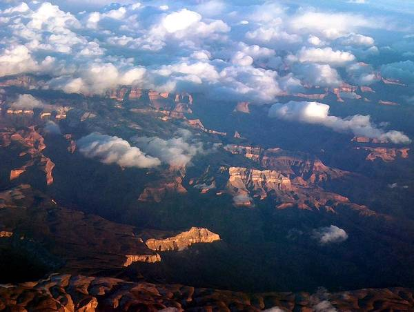 Grand Canyon Art Print featuring the photograph Magnificent Grand Canyon by Janet Hall