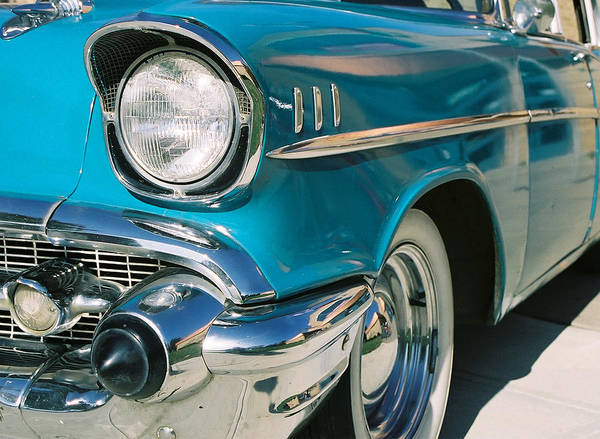 Chevy Art Print featuring the photograph Old Chevy by Steve Karol