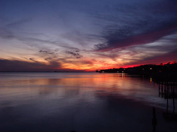 Sunset Art Print featuring the photograph Painted Sky by Nicole I Hamilton