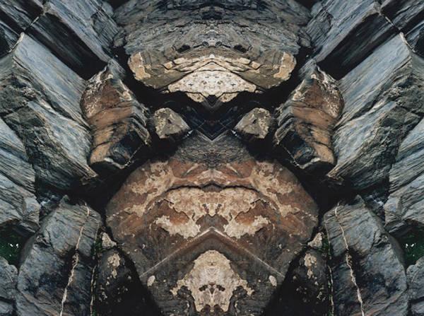 Rocks Art Print featuring the photograph Rock Gods Rock Matron by Nancy Griswold