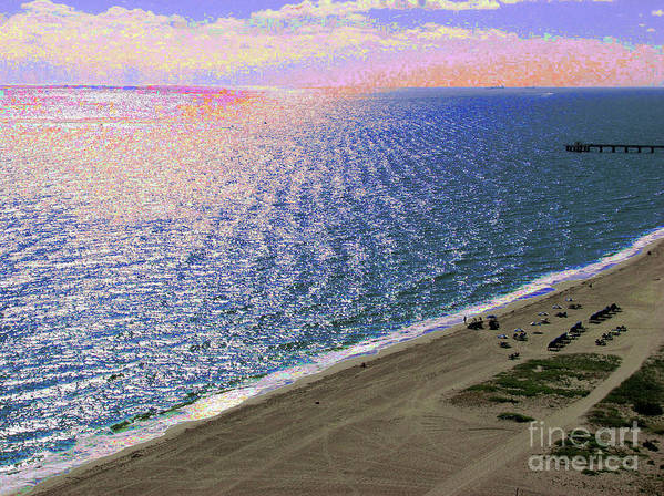 Ocean Art Print featuring the photograph Seascape 1006 by Corinne Carroll