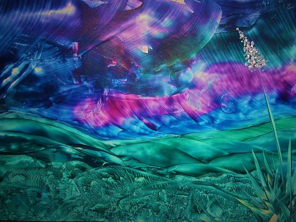 Desert Art Print featuring the print Sierra Vista by Melinda Etzold