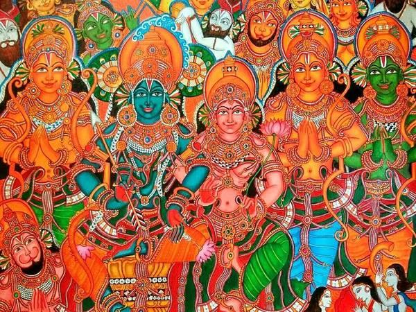 Sree Rama pattabhishekam by Devi Pramod