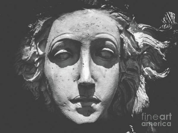 Sculpture Art Print featuring the photograph The Sea Siren Mermaid by Colleen Kammerer