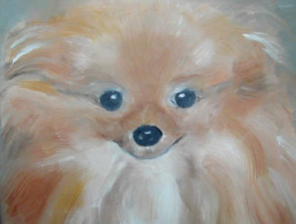 Konkol Art Print featuring the painting Trinket by Lisa Konkol