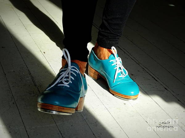 Turquoise Tap Shoes by Lainie Wrightson