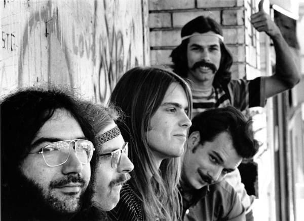 Music Art Print featuring the photograph Photo Of Grateful Dead by Michael Ochs Archives