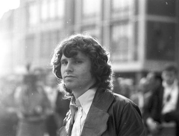 Horizontal Art Print featuring the photograph Photo Of Jim Morrison by Michael Ochs Archives