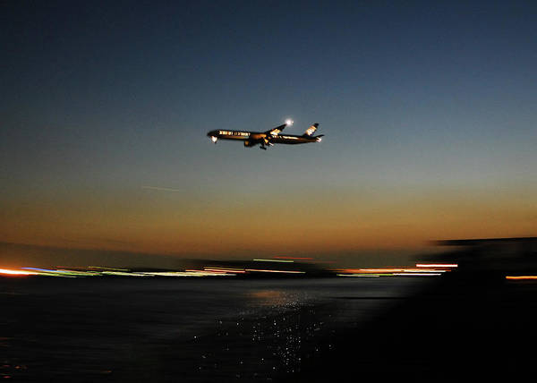 Outdoors Art Print featuring the photograph Airplane by Takeshi.k