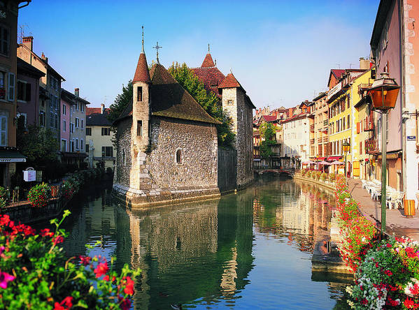 Town Art Print featuring the photograph Annecy, Savoie, France by Robertharding