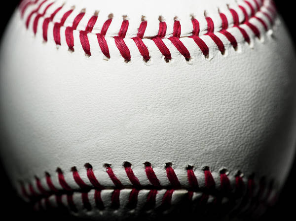 Ball Art Print featuring the photograph Baseball by Pgiam