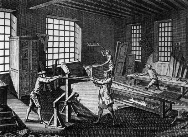 Drawer Art Print featuring the photograph Cabinet Makers by Hulton Archive