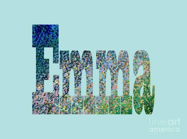 Emma Art Print featuring the painting Emma by Corinne Carroll