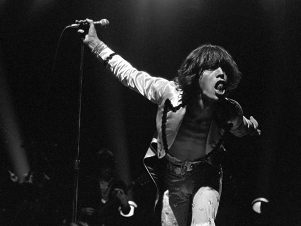 Mick Jagger Art Print featuring the photograph Jaggers Tongue by Graham Wiltshire