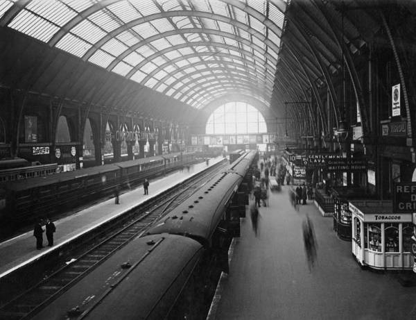 Passenger Train Art Print featuring the photograph Kings Cross Station by Macgregor