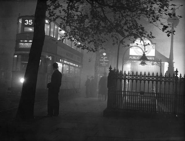 1930-1939 Art Print featuring the photograph London Scenes by Fox Photos