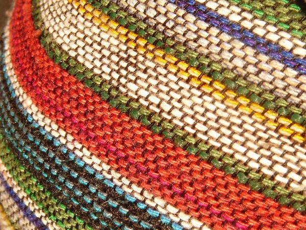 Art Art Print featuring the photograph Peruvian Fabric Art by Images By Luis Otavio Machado