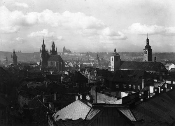 Architectural Feature Art Print featuring the photograph Prague by Fox Photos