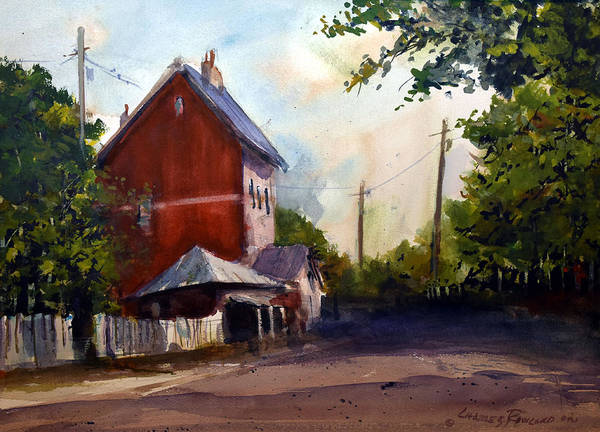 Sofala. New South Wales Art Print featuring the painting Sofala Post Office, NSW Australia by Charles Rowland