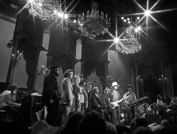 San Francisco Art Print featuring the photograph The Last Waltz Concert by Michael Ochs Archives