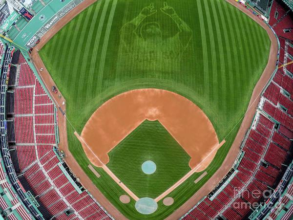 Grass Art Print featuring the photograph David Ortiz by Billie Weiss/boston Red Sox