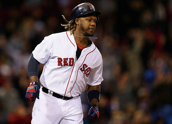 People Art Print featuring the photograph Hanley Ramirez by Maddie Meyer
