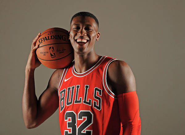 Media Day Art Print featuring the photograph Kris Dunn by Randy Belice