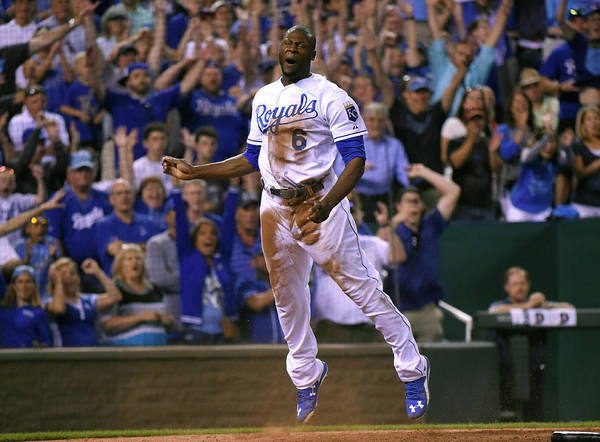 People Art Print featuring the photograph Lorenzo Cain by Ed Zurga