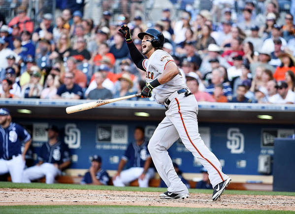 Ninth Inning Art Print featuring the photograph Mike Morse by Denis Poroy