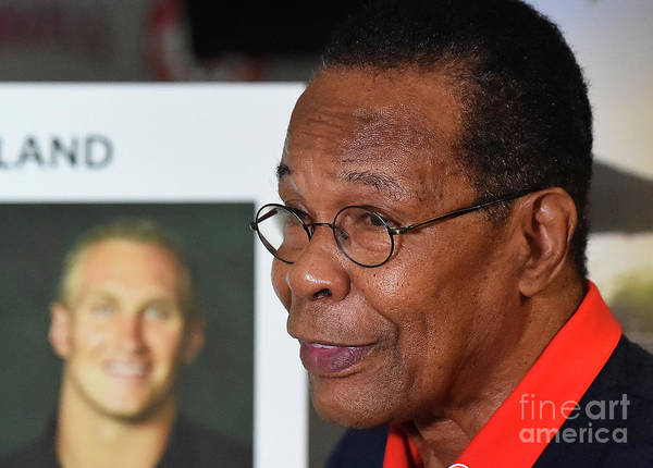 People Art Print featuring the photograph Rod Carew by Jayne Kamin-oncea