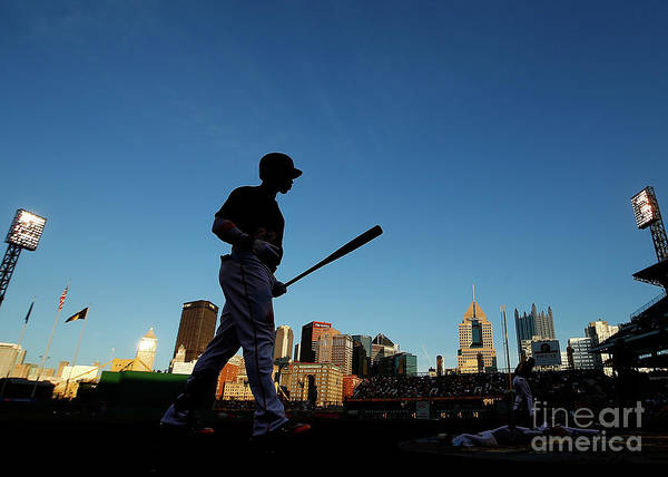 Second Inning Art Print featuring the photograph Andrew Mccutchen by Jared Wickerham