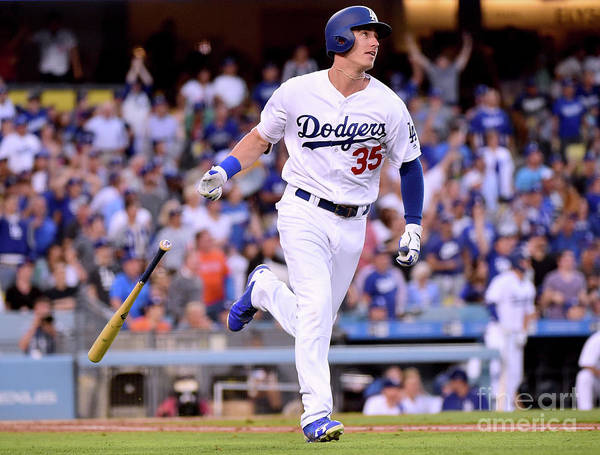 Second Inning Art Print featuring the photograph Cody Bellinger by Harry How