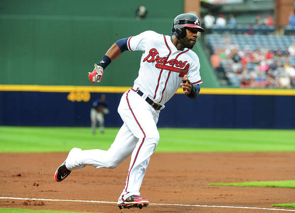 Atlanta Art Print featuring the photograph Jason Heyward by Scott Cunningham