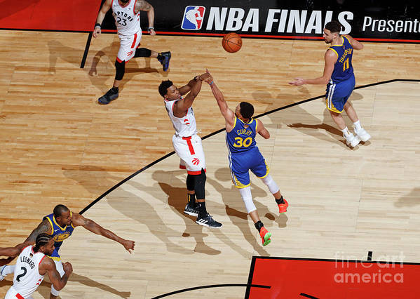 Playoffs Art Print featuring the photograph Kyle Lowry by Mark Blinch