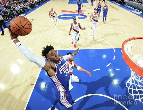 Nba Pro Basketball Art Print featuring the photograph Robert Covington by Jesse D. Garrabrant