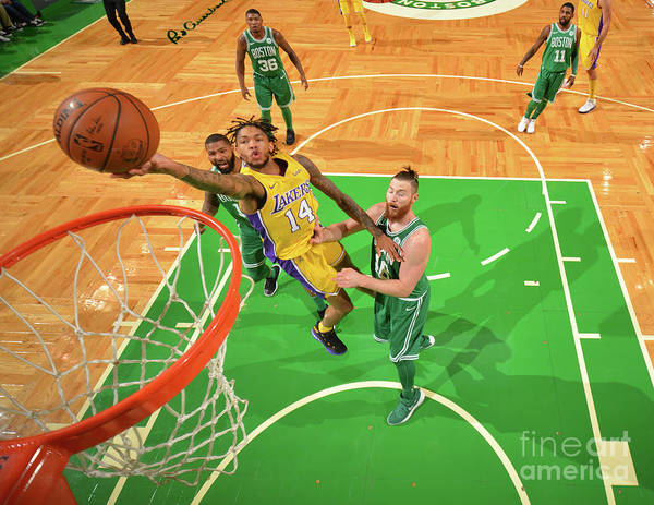 Nba Pro Basketball Art Print featuring the photograph Brandon Ingram by Jesse D. Garrabrant