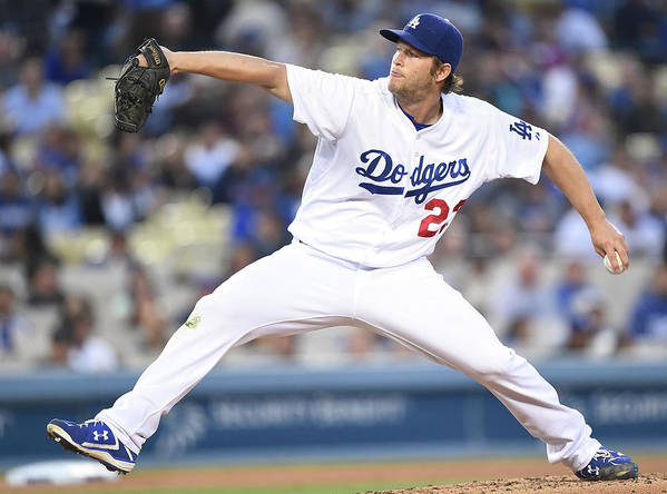 Clayton Kershaw Art Print featuring the photograph Clayton Kershaw by Harry How