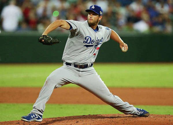 People Art Print featuring the photograph Clayton Kershaw by Matt King