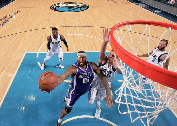Nba Pro Basketball Art Print featuring the photograph Demarcus Cousins by Glenn James