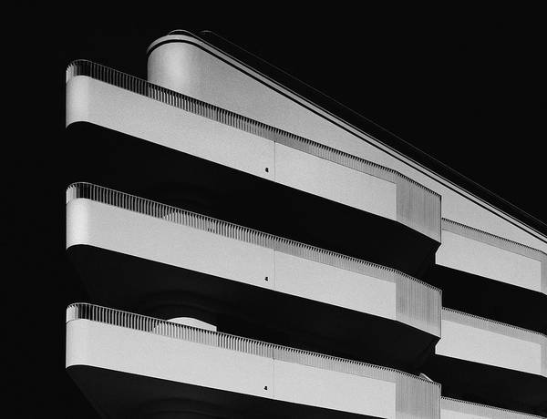 Downtown District Art Print featuring the photograph facade study lV by Anton Schedlbauer