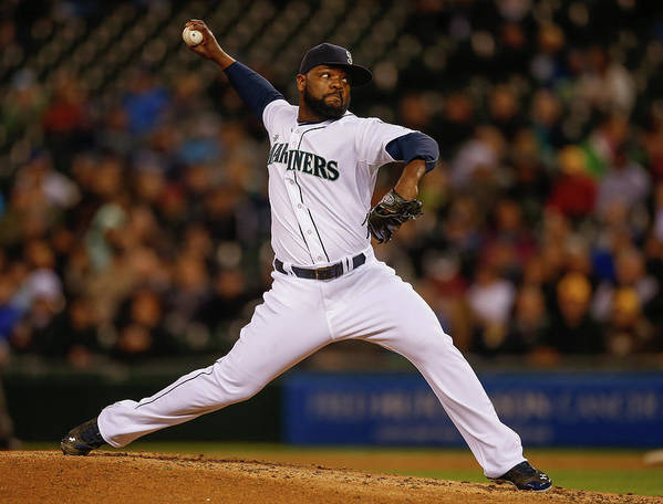 Ninth Inning Art Print featuring the photograph Fernando Rodney by Otto Greule Jr