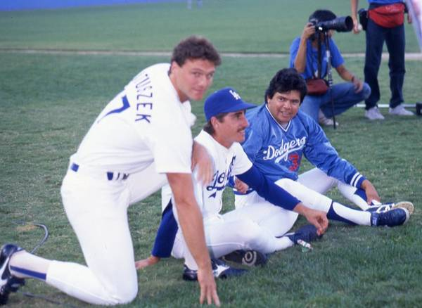 1980-1989 Art Print featuring the photograph Fernando Valenzuela by Donaldson Collection
