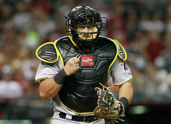 Baseball Catcher Art Print featuring the photograph Francisco Cervelli by Ralph Freso