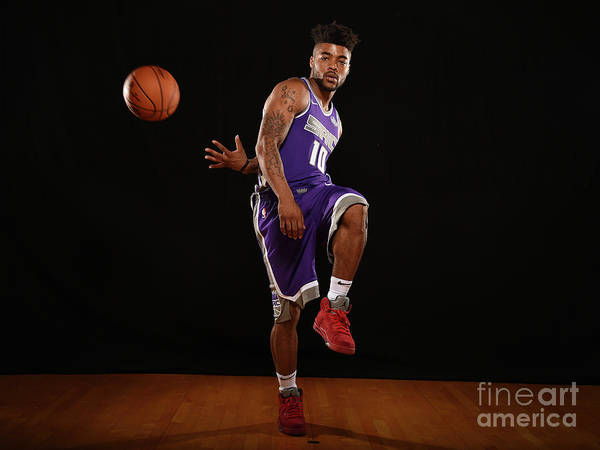 Nba Pro Basketball Art Print featuring the photograph Frank Mason by Brian Babineau