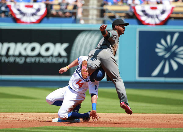 People Art Print featuring the photograph Jean Segura by Victor Decolongon