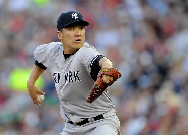 Second Inning Art Print featuring the photograph Masahiro Tanaka by Hannah Foslien