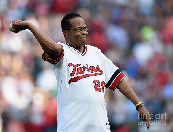 Three Quarter Length Art Print featuring the photograph Rod Carew by Hannah Foslien