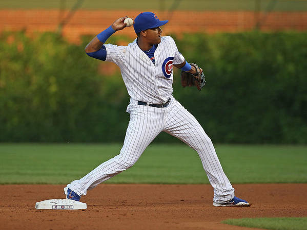 People Art Print featuring the photograph Starlin Castro by Jonathan Daniel